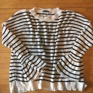 Super soft striped sweater